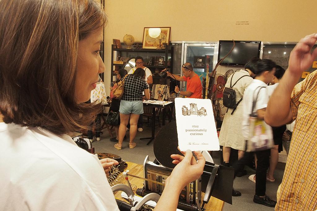 istorya vintage appreciation fair 2017 the curious artisan letterpress demo