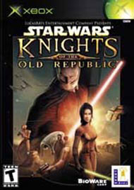 Star Wars Knights of the Old Republic Xbox Cover