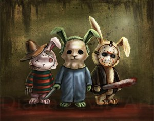 """Horror Bunnies"" by Diana Levin"
