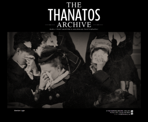 Cover of the Thanatos Archive Page