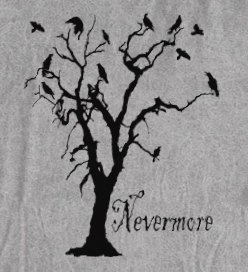 Nevermore tshirt