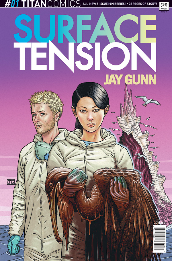 Surface Tension 1 Cover B