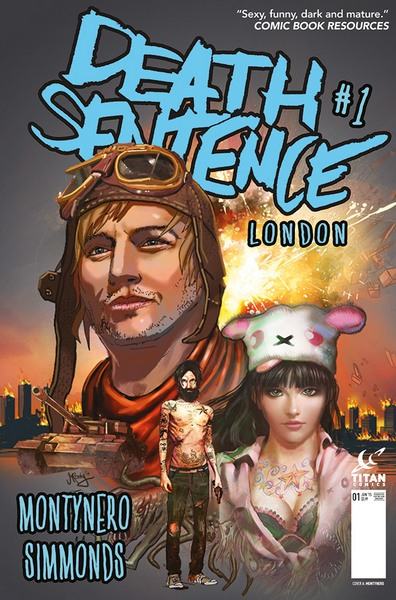 Death Sentence: London Cover A