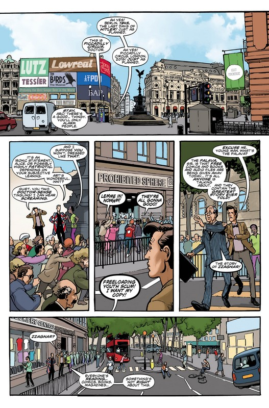 The Eleventh Doctor Who Comic page