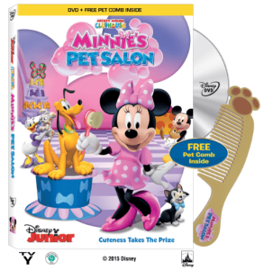 Minnies Pet Salon Cover