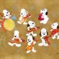 Peanuts Art by Jen Wang