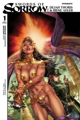 Dejah and Irene Adler Cover by Jay Anacleto