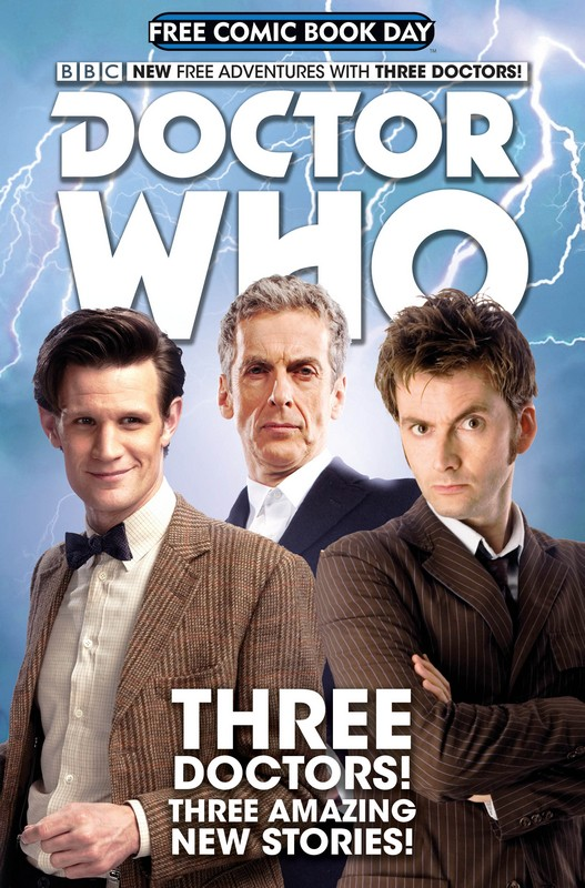 Titan Comics Free Doctor Who Comic On Free Comic Book Day Cover