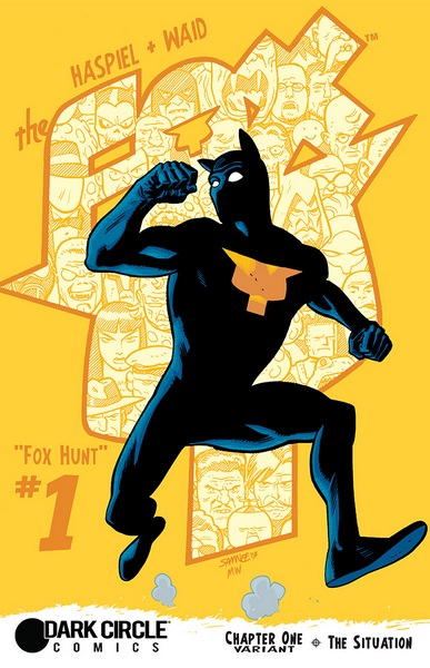 The Fox #1 Cover 4