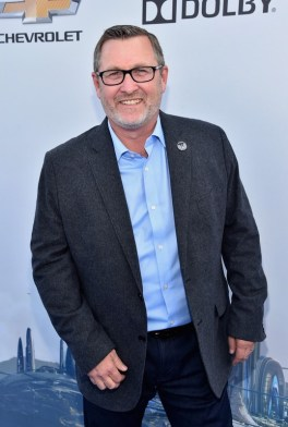 """ANAHEIM, CA - MAY 09: Co-producer/VFX producer Tom Peitzman attends the world premiere of Disney's """"Tomorrowland"""" at Disneyland, Anaheim on May 9, 2015 in Anaheim, California. (Photo by Alberto E. Rodriguez/Getty Images for Disney) *** Local Caption *** Tom Peitzman"""