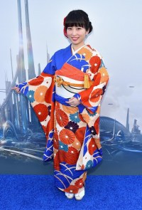 "ANAHEIM, CA - MAY 09: Actress Mirai Shida attends the world premiere of Disney's ""Tomorrowland"" at Disneyland, Anaheim on May 9, 2015 in Anaheim, California. (Photo by Alberto E. Rodriguez/Getty Images for Disney) *** Local Caption *** Mirai Shida"