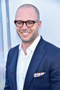 "ANAHEIM, CA - MAY 09: Writer Damon Lindelof attends the world premiere of Disney's ""Tomorrowland"" at Disneyland, Anaheim on May 9, 2015 in Anaheim, California. (Photo by Alberto E. Rodriguez/Getty Images for Disney) *** Local Caption *** Damon Lindelof"