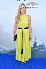 "ANAHEIM, CA - MAY 09: Actress Lindsey Vonn attends the world premiere of Disney's ""Tomorrowland"" at Disneyland, Anaheim on May 9, 2015 in Anaheim, California. (Photo by Alberto E. Rodriguez/Getty Images for Disney) *** Local Caption *** Lindsey Vonn"