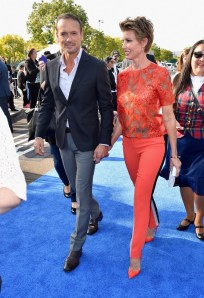 "ANAHEIM, CA - MAY 09: Singers Tim McGraw (L) and Faith Hill attend the world premiere of Disney's ""Tomorrowland"" at Disneyland, Anaheim on May 9, 2015 in Anaheim, California. (Photo by Alberto E. Rodriguez/Getty Images for Disney) *** Local Caption *** Faith Hill;Tim McGraw"