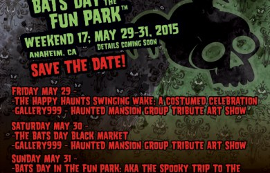 Bats Day In The Fun Park Poster