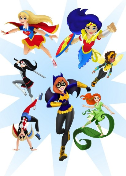 DC Super Hero Girls Announcement Image