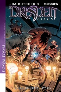 The Dresden Files #5 Cover