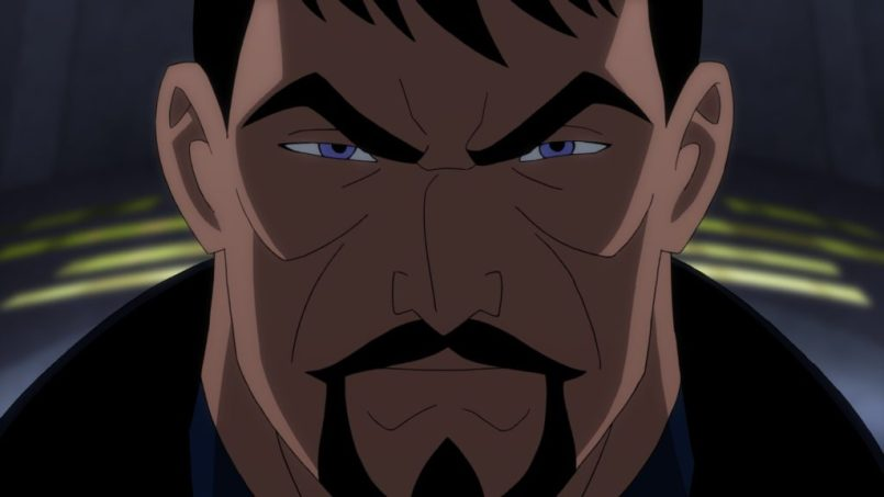 Superman in Justice League: Gods and Monsters