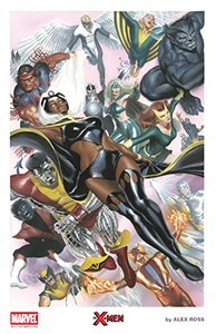 Alex Ross SDCC 2015 X-Men Lithograph