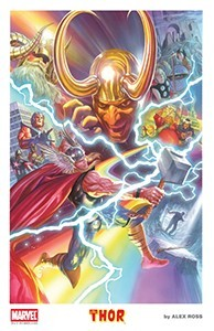 Alex Ross SDCC 2015 Thor Lithograph