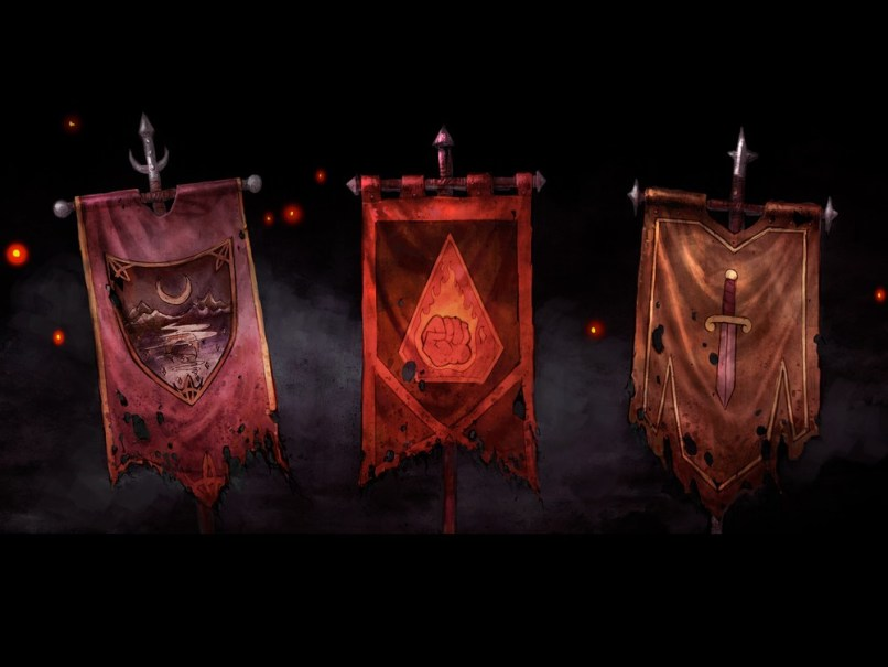 Baldurs Gate Siege of Dragonspear flags
