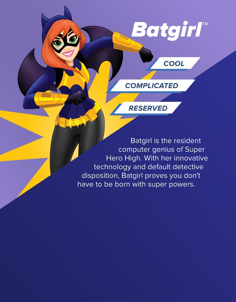 Batgirl from Super Hero Girls