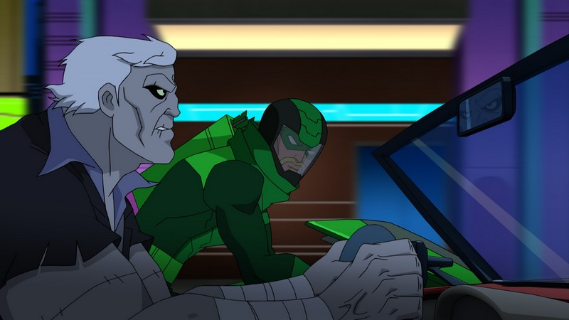 Green Arrow and Solomon Grundy in Batman Unlimited: Monster Mayhem
