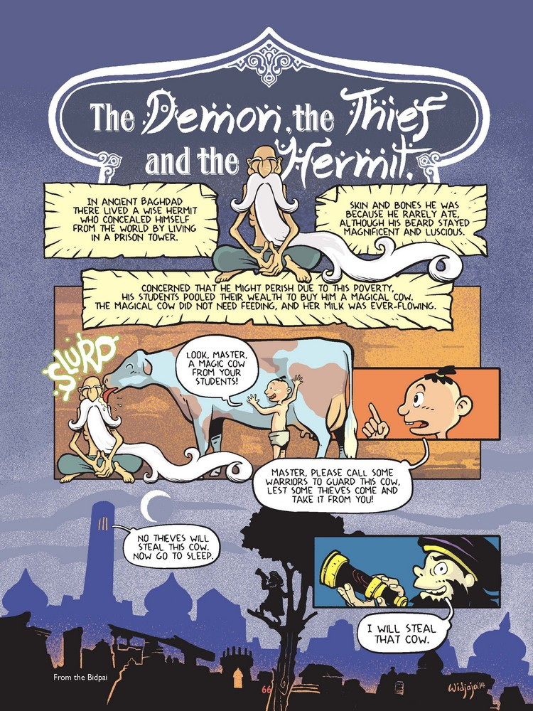 Fables the Demon the Thief and the Hermit