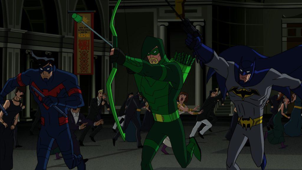 Batman, Green Arrow, and Nightwing