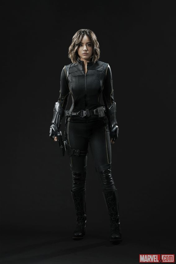 Daisy Johnson Quake Suit Front