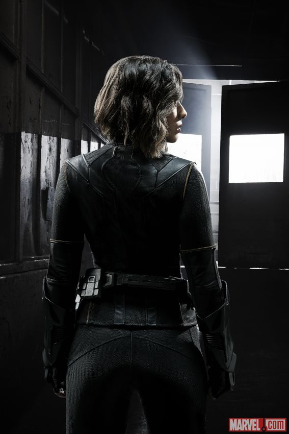 Daisy Johnson Quake Suit Back