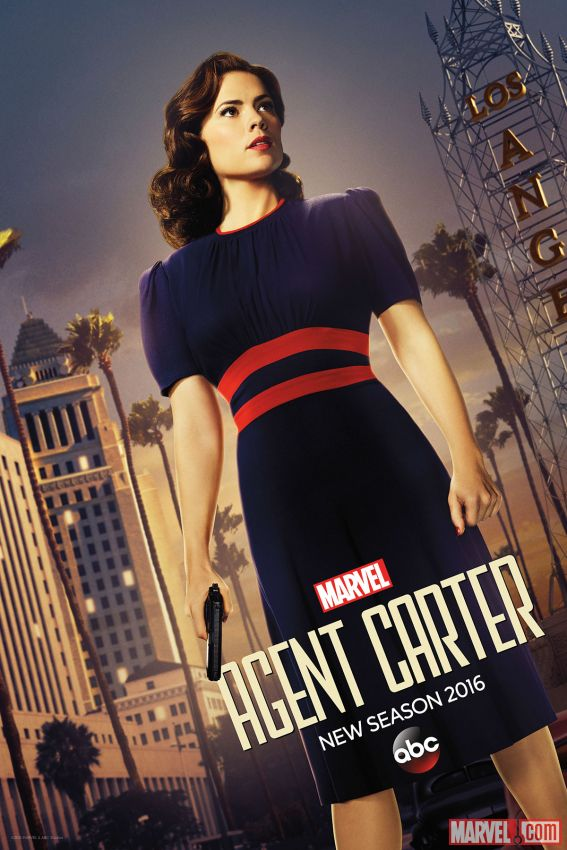 Marvel's Agent Carter NYCC Exclusive Poster