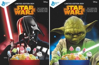 Star Wars General Mills Cerial