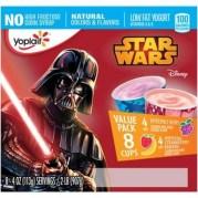 Star Wars Low Fat yogurt