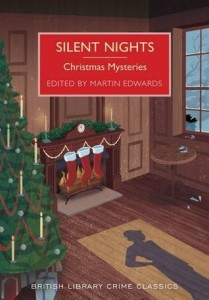 Cover for Silent Nights Christmas Mysteries edited by Martin Edwards