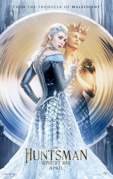 The Ice Queen and the Evil Queen in The Huntsman: Winter's War