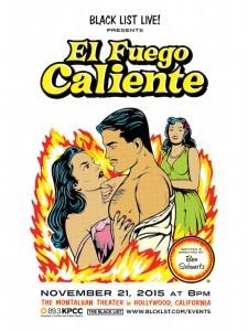 Poster for BlackList Live! Performs El Fuego Caliente