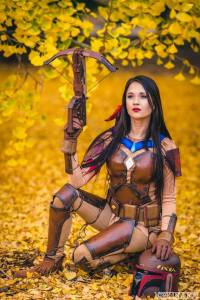 Cosplayer Hendo Art as Poca Fett