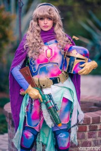 Cosplayer PandaCat as Aurora Fett