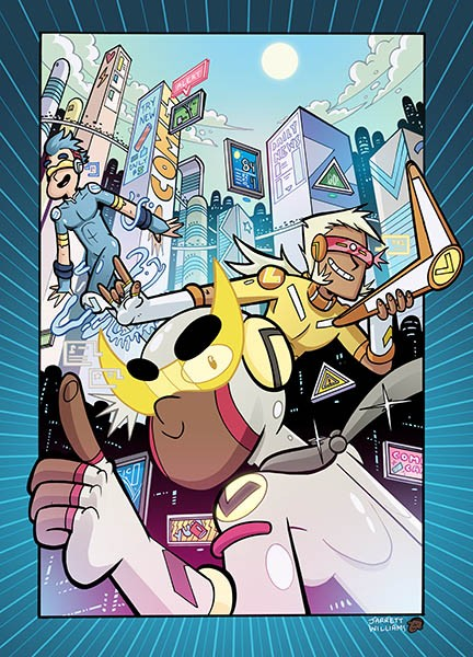 Hyper Force Neo Cover