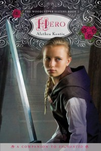 Paperback Cover for Hero by Alethea Kontis