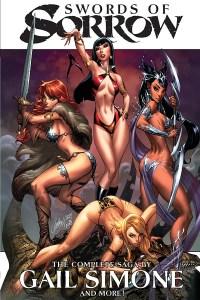 Swords of Sorrow Trade Paperback Cover