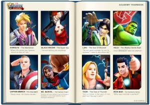 avengers academy yearbook