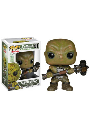 Fallout super mutant Pop Vinyl Figure