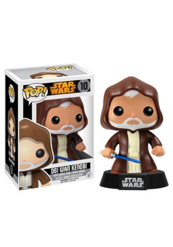 Obi Wan Kenobi Pop Vinyl Figure