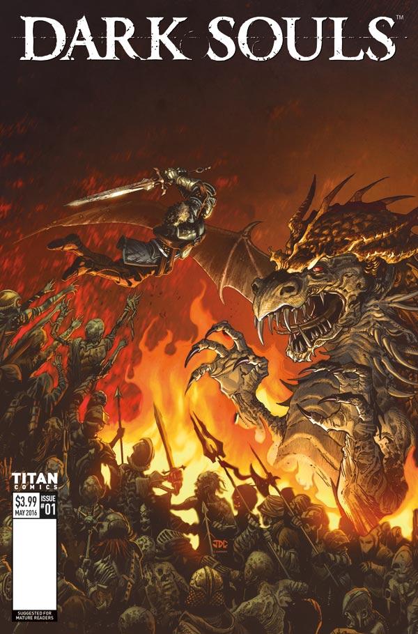 Dark Souls #1 Cover C