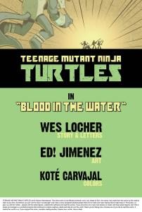 TMNT Blood in the Water Creators