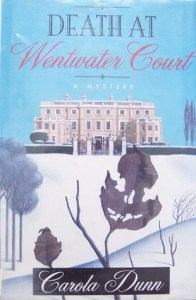 Cover for Death at Wentwater Court