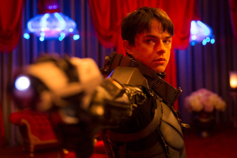 M-3VDF-0468af Dane DeHaan stars in EuropaCorp's Valerian and the City of a Thousand Planets. Photo credit: Vikram Gounassegarin © 2016 VALERIAN SAS Ð TF1 FILMS PRODUCTION