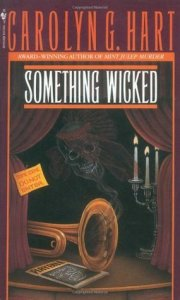 Something Wicked by Carolyn G Hart Cover